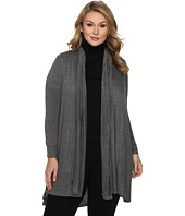 B Collection by Bobeau Curvy - Plus Size Haider Knit Scarf Duster