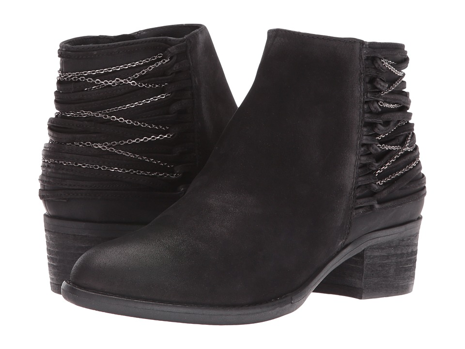 Steve Madden - Chily (Black Nubuck) Women