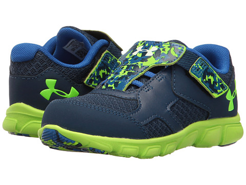 Under Armour Kids UA BINF Thrill RN AC (Infant/Toddler) - Blackout Navy/Ultra Blue/Ultra Blue