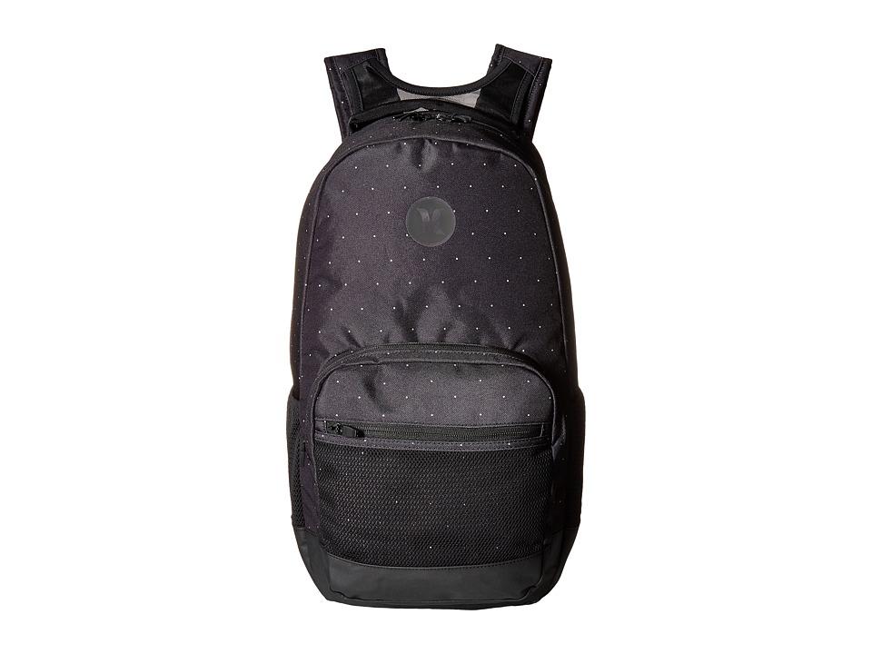 Hurley - Patrol Printed Backpack (Black/White/Black) Backpack Bags