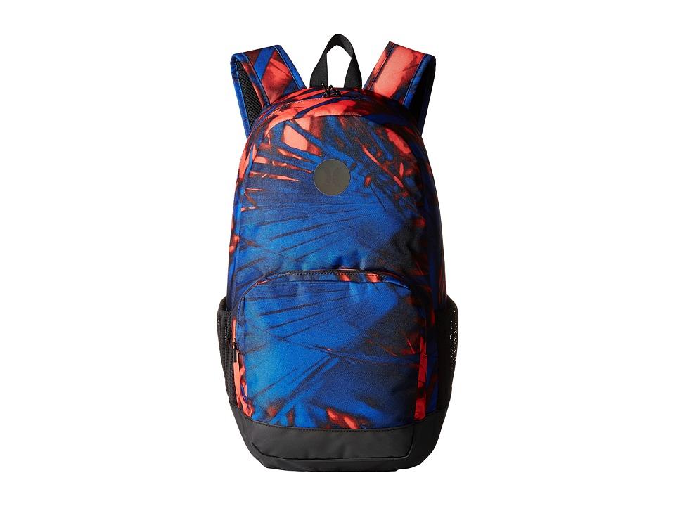 Hurley - Renegade Printed Backpack (Bright Crimson/Game Royal/Black) Backpack Bags