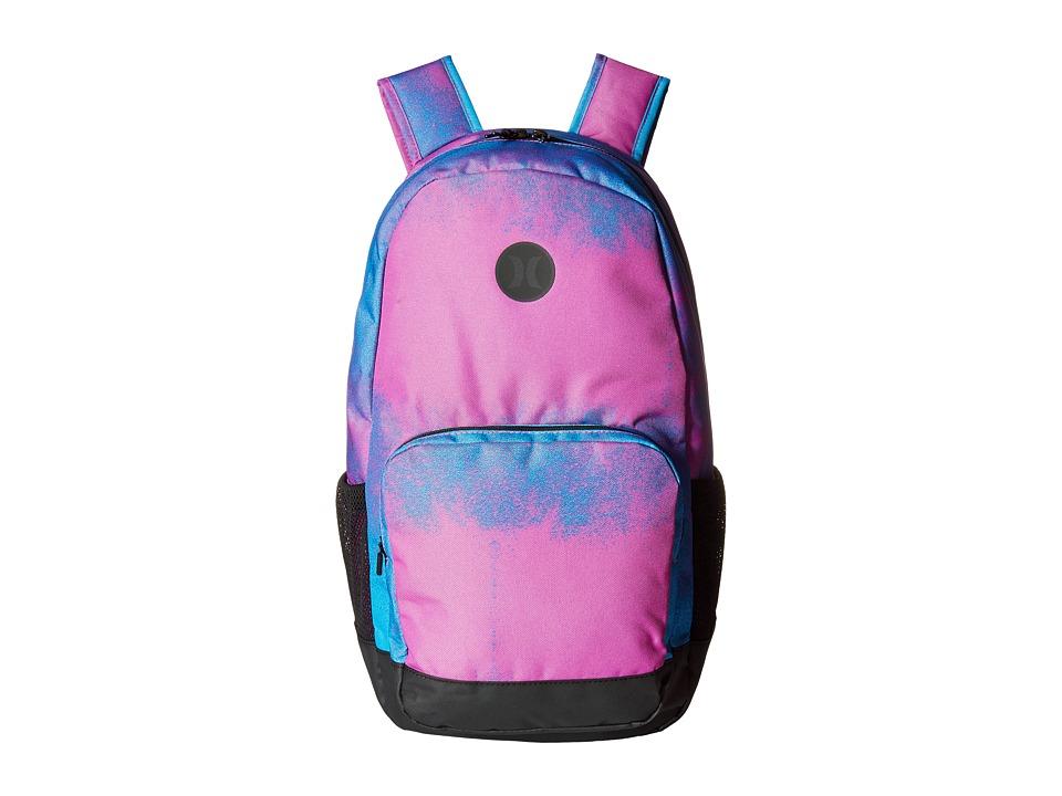 Hurley - Renegade Printed Backpack (Blue Lagoon/Magenta/Black) Backpack Bags