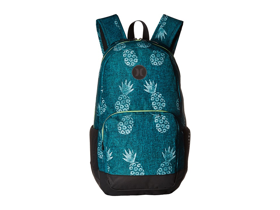 Hurley - Renegade Printed Backpack (Rio Teal/Volt/White/Black) Backpack Bags