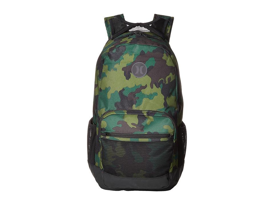 Hurley - Patrol Printed Backpack (Multi/Black) Backpack Bags