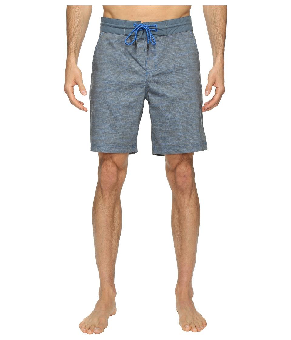 Columbia Hybrid Falls Water Shorts (Super Blue Dotty Dye print) Men