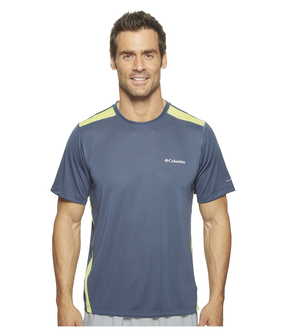 Columbia Ridge Dash Short Sleeve Shirt (Zinc/Voltage) Men