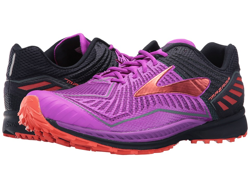 BROOKS Mazama (Purple Cactus Flower/Peacoat/Hot Coral) Wo...