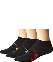 Polo Ralph Lauren - 3-Pack Big Polo Player On Sole Low Cut