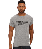 The Original Retro Brand - Drinking Buddy Short Sleeve Tri-Blend Tee