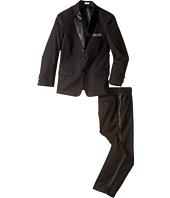 Calvin Klein Kids - Tuxedo Suit - Husky (Big Kids)