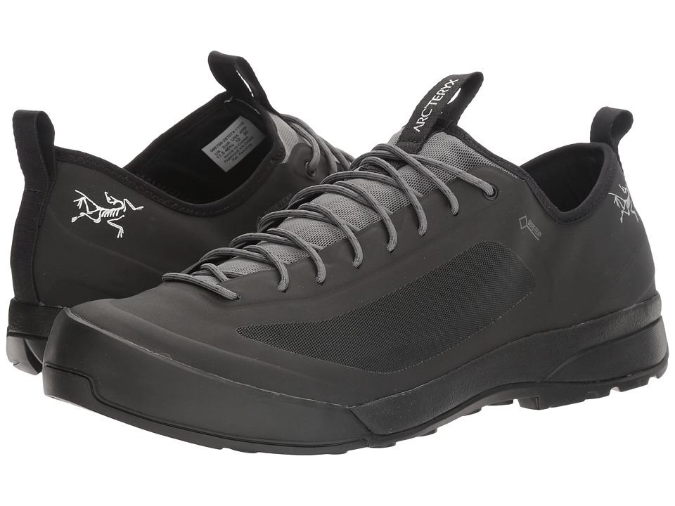 Arc'Teryx Acrux SL GTX Approach (Black/Stone) Men's Shoes