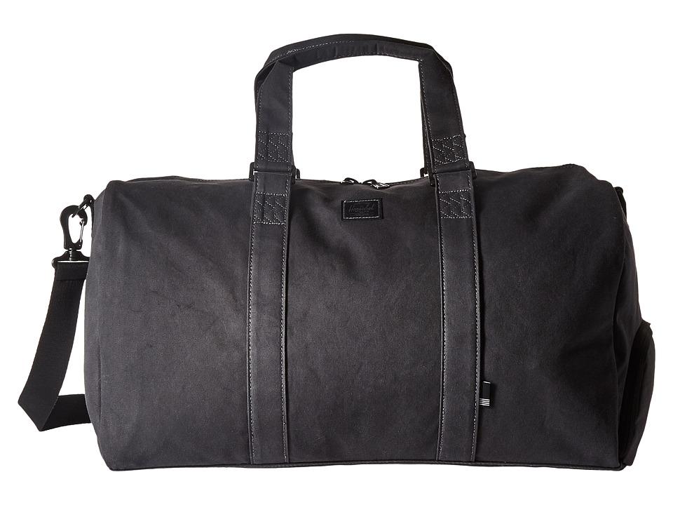 Herschel Supply Co. Novel (Black Ion Washed) Duffel Bags
