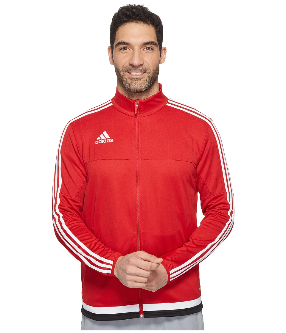 adidas Tiro 15 Training Jacket (Power Red/White/Black) Men