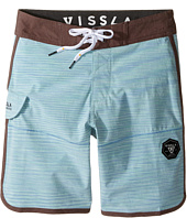 VISSLA Kids - Spaced Diver 4-Way Stretch Space Dye Boardshorts 17