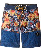 VISSLA Kids - Sundaze 4-Way Stretch Boardshorts 17