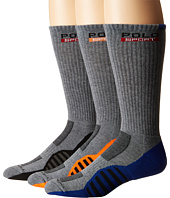 Polo Ralph Lauren - 3-pack Racing Stripe Sole Contrast Crew Socks