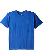 VISSLA Kids - Reverse Gradient Everyday Heathered Tee (Big Kids)
