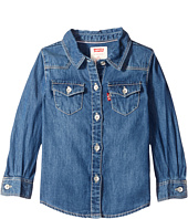 Levi's® Kids - Long Sleeve Woven Top (Infant)