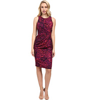 Badgley Mischka - Side Pleated Sheath