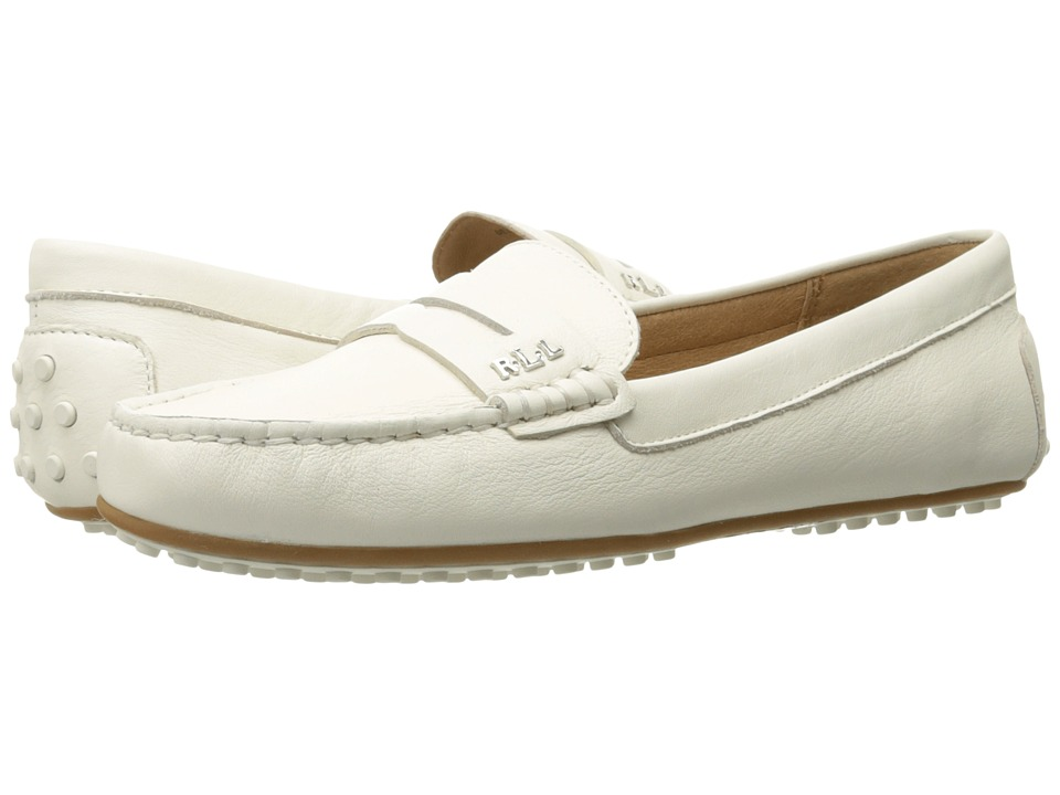LAUREN Ralph Lauren Belen (Artists Creme Super Soft Leather) Women