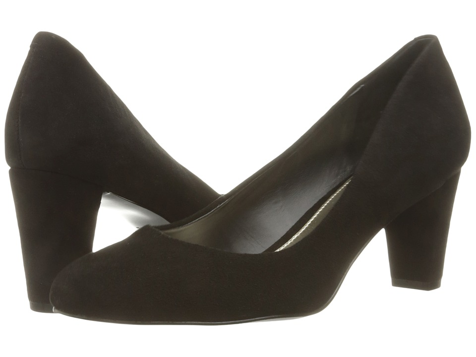 LAUREN Ralph Lauren - Hala (Black Kid Suede) Womens Shoes