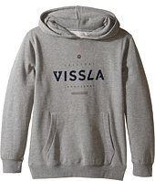 VISSLA Kids - Pillars Hooded Pullover Fleece (Big Kids)