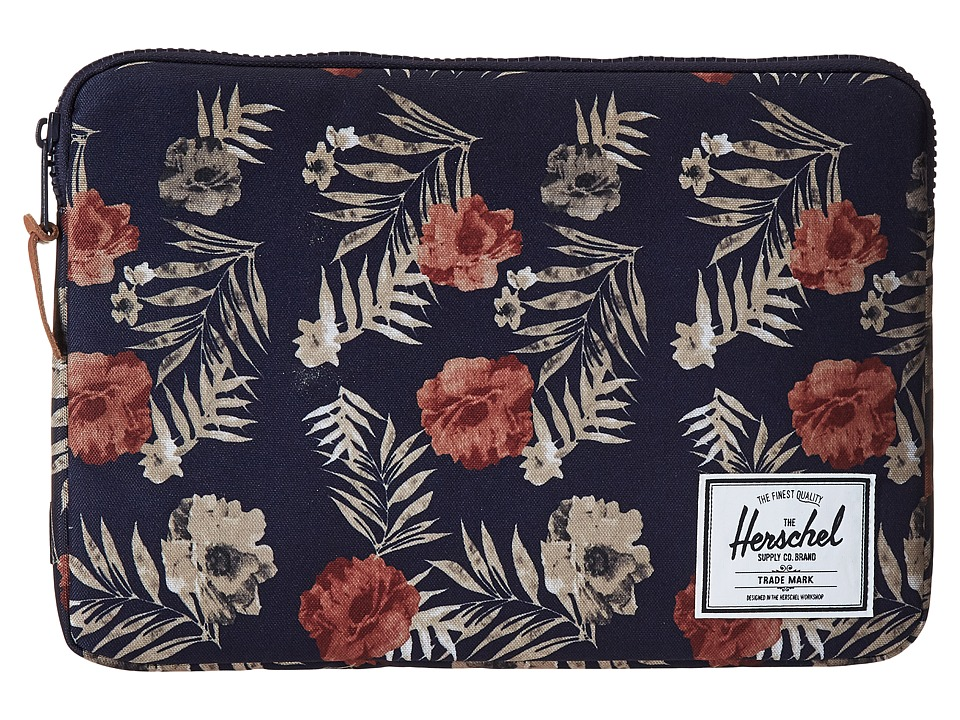 Herschel Supply Co. Anchor Sleeve for 13inch Macbook Real Tree (Peacoat Floria) Computer Bags