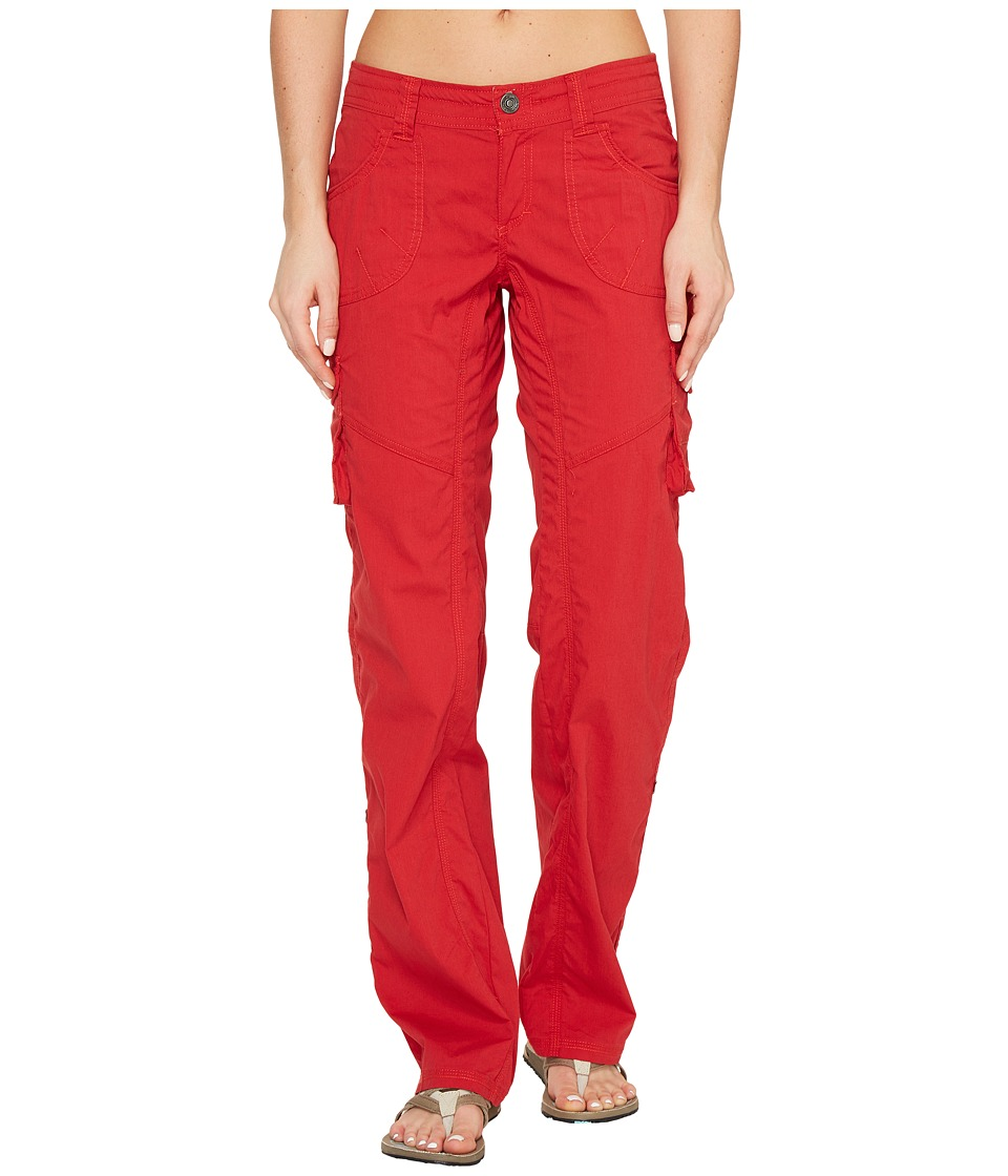 KUHL Kontra Cargo Pants (Cherry) Women