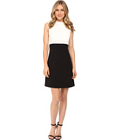 Donna Morgan - Sleeveless Mock Neck Dress