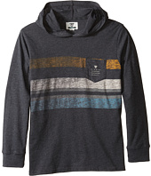 VISSLA Kids - Kooktown Knit Hoodie Long Sleeve (Big Kids)