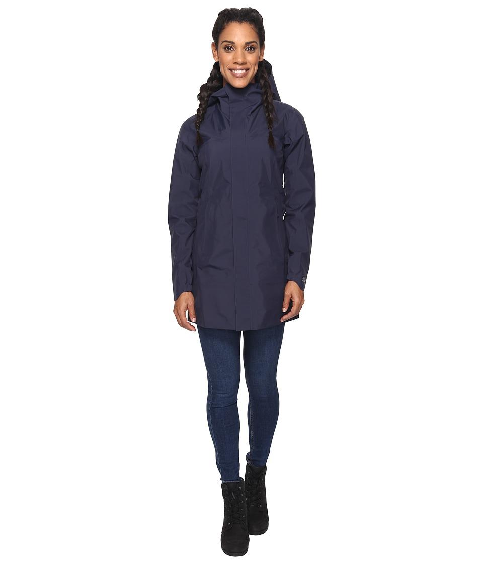 Arc'Teryx Codetta Coat (Black Sapphire) Women's Coat