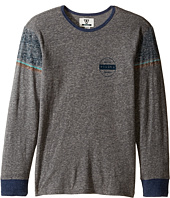 VISSLA Kids - Striker Long Sleeve Tri-Blend Knit (Big Kids)