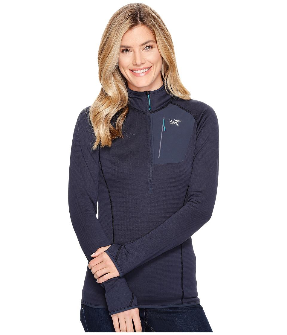 Arc'Teryx Konseal Hoodie (Black Sapphire) Women's Sweatshirt