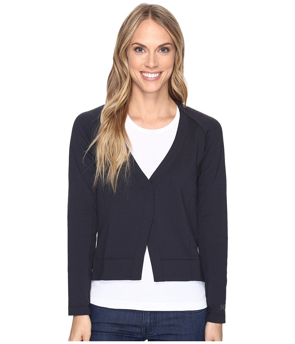 Arc'Teryx A2B Cardigan (Black) Women's Sweater