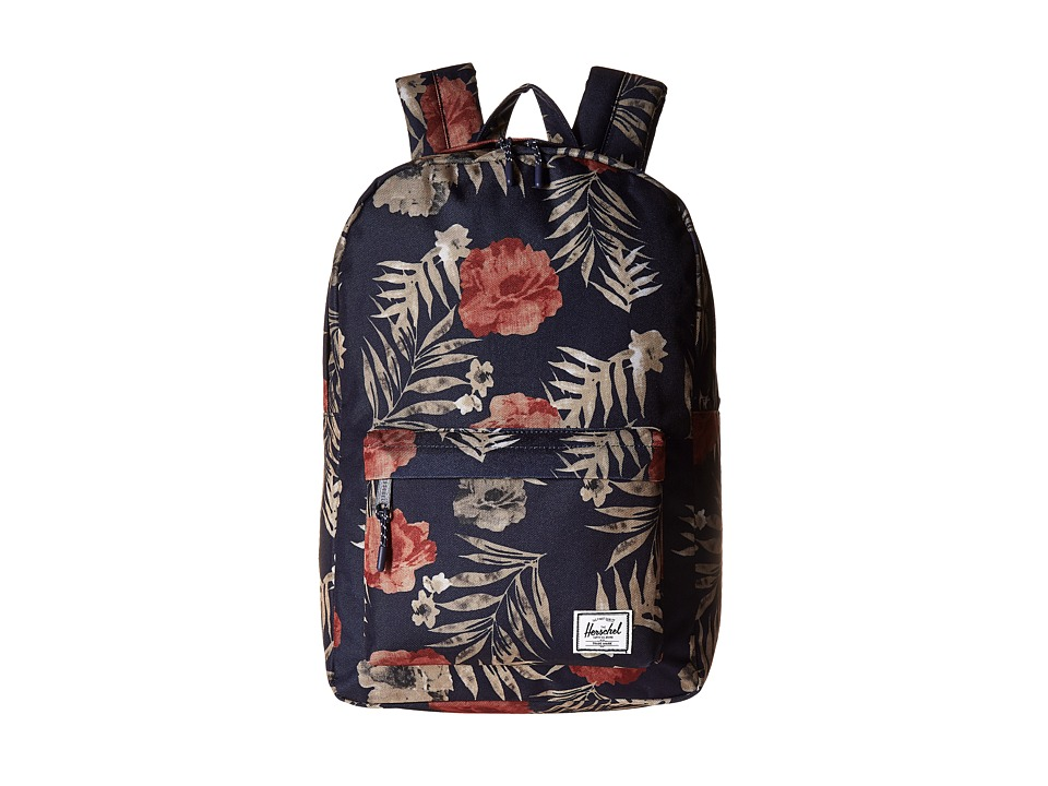 Herschel Supply Co. Classic Mid-Volume (Peacoat Floria) Backpack Bags