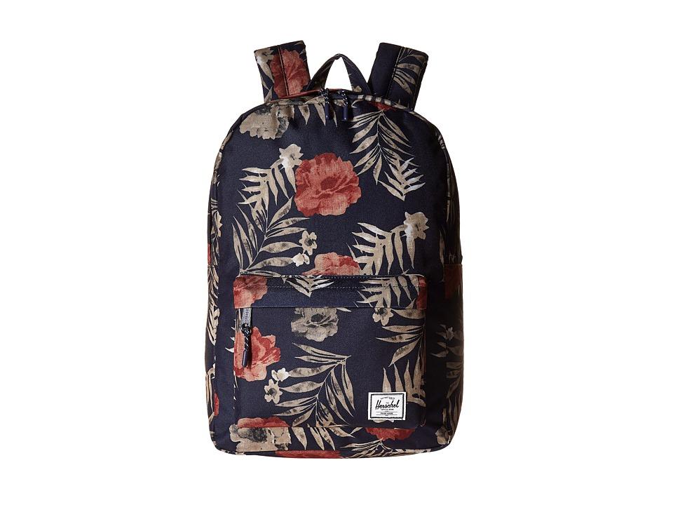 Herschel Supply Co. Classic Mid-Volume (Peacoat Floria) Backpack Bags