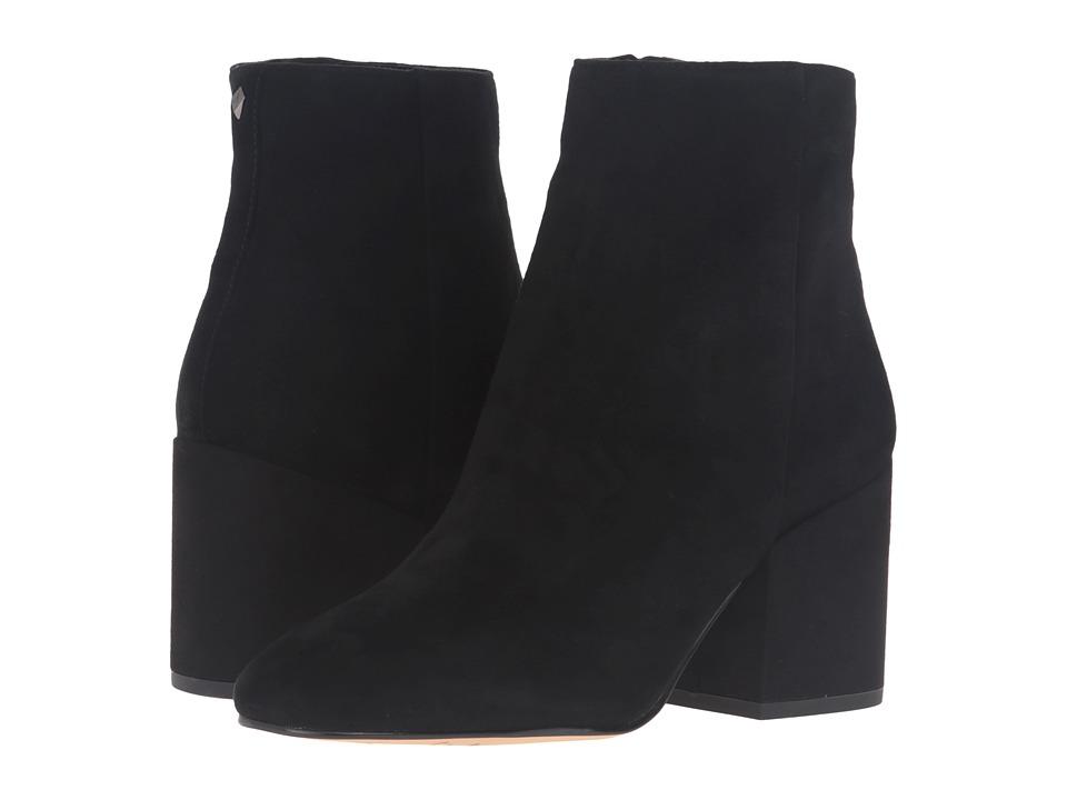 Sam Edelman - Taye (Black Kid Suede Leather 1) Women's Shoes