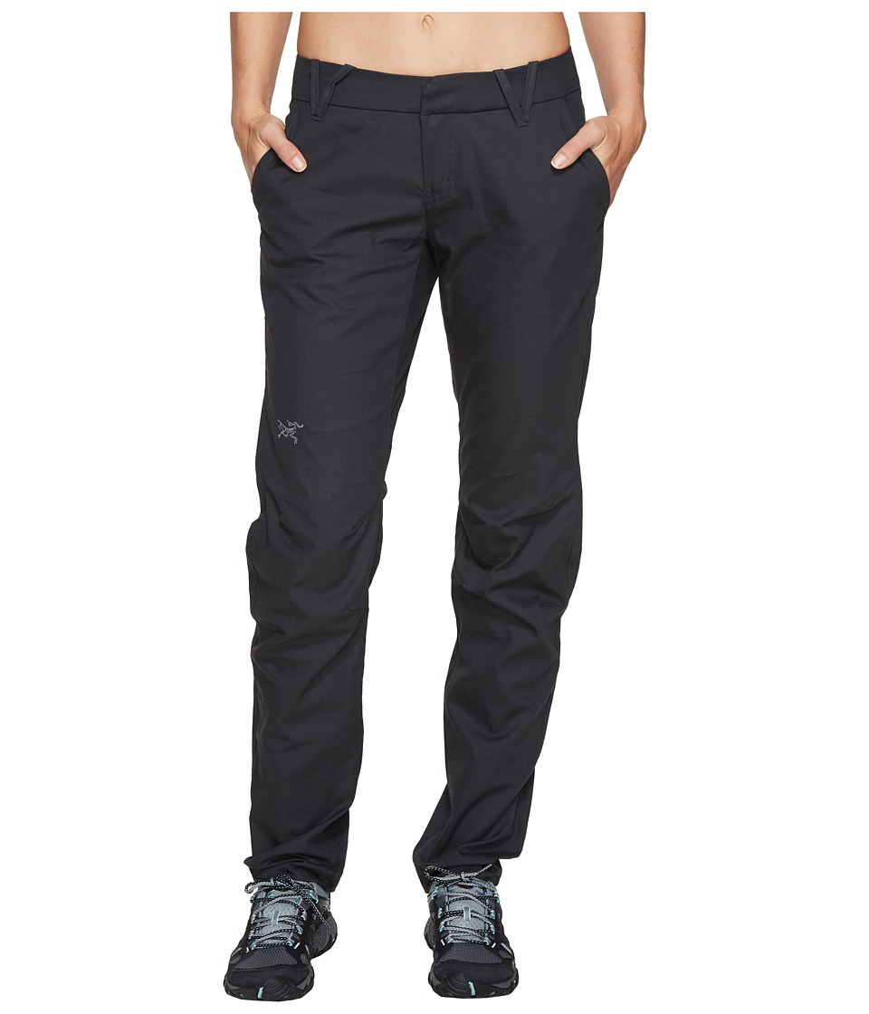 Image of Arc'teryx - A2B Chino Pants (Charcoal) Women's Casual Pants