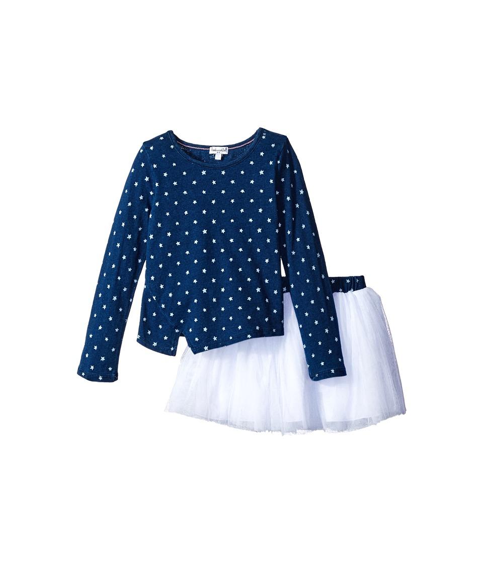 Splendid Littles - Indigo Tutu Dress Star Print