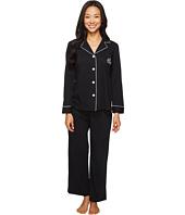 LAUREN Ralph Lauren - Petite Classic Notch Collar Pajama
