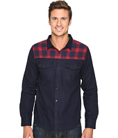United By Blue - Banff Wool Shirt with Plaid Trim