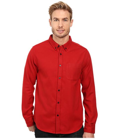United By Blue Banff Wool Shirt - Red