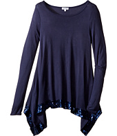 Splendid Littles - Long Sleeve Knit Top with Sequin Trim (Big Kids)