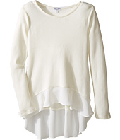 Splendid Littles - Long Sleeve Thermal with Chiffon (Big Kids)