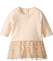 Pumpkin Patch Kids - Mesh Glitter Print Dress (Infant)