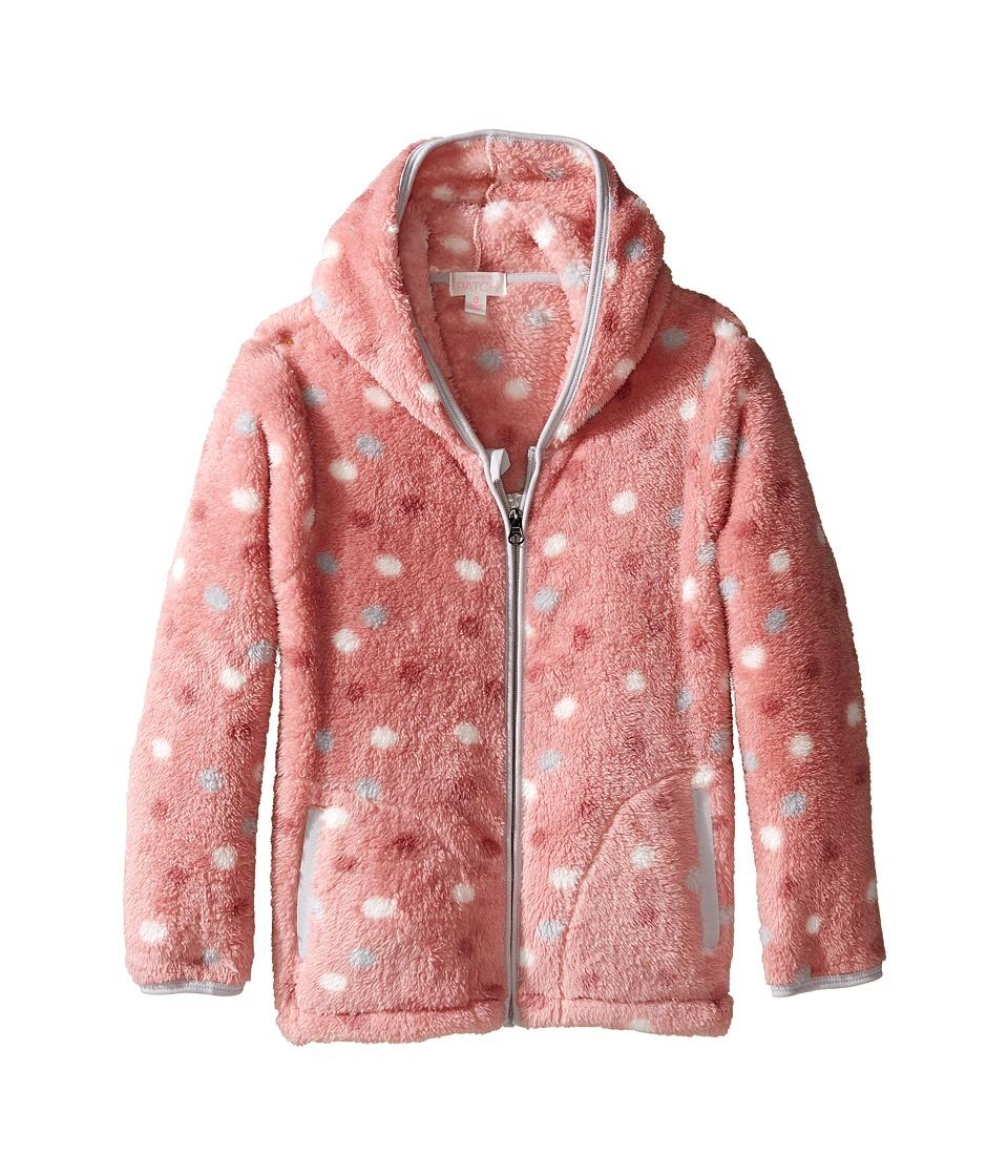 Pumpkin Patch Kids Fleece Jacket (Infant/Toddler/Little Kids/Big Kids) (Bridal Rose) Girl