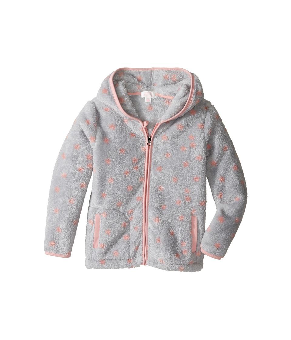 Pumpkin Patch Kids Fleece Jacket (Infant/Toddler/Little Kids/Big Kids) (Grey Marle) Girl