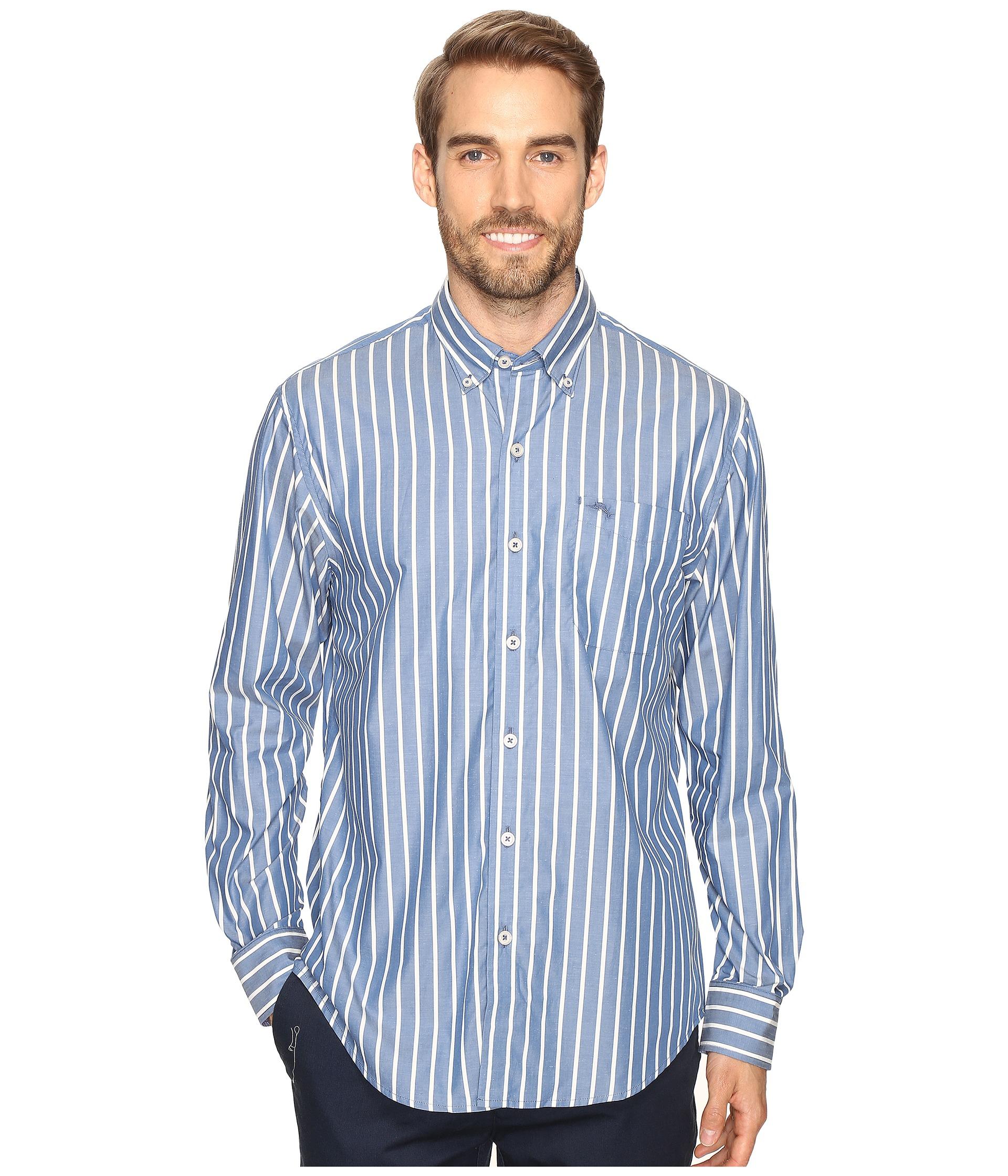 Tommy bahama cabana stripe long sleeve woven shirt at for Tommy bahama long sleeve dress shirts