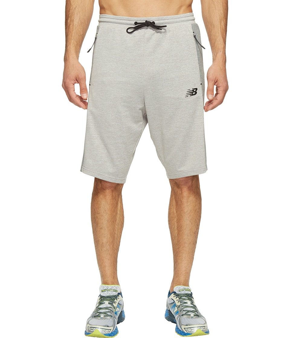 New Balance 247 Tech Shorts (Athletic Grey) Men