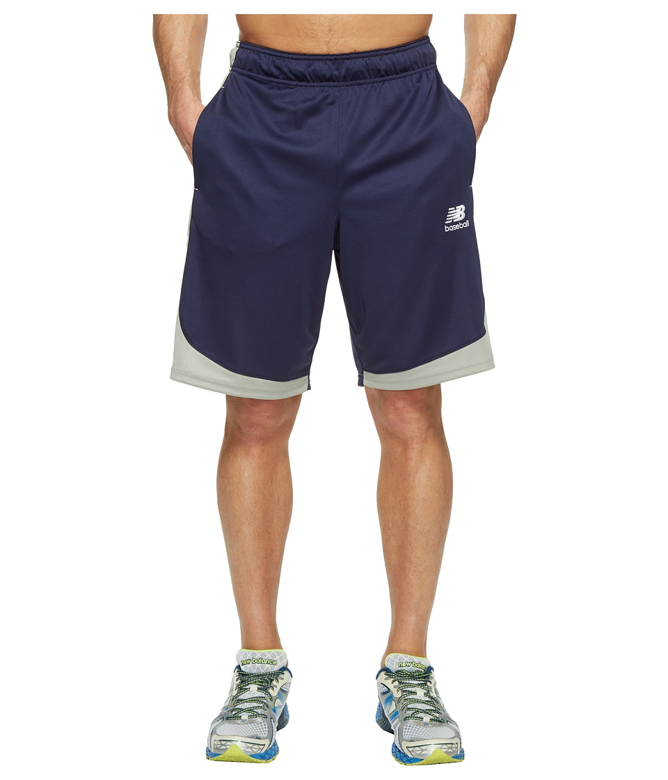 New Balance Baseball Training Shorts (Team Navy) Men
